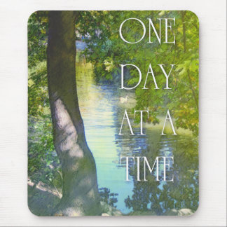 One Day at a Time Duck Pond Mousepad