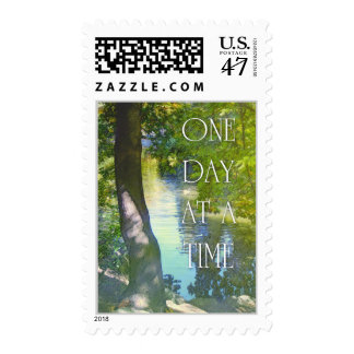 One Day at a Time Duck Pond Postage