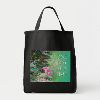 One Day at a Time Hollyhocks Bags