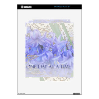 One Day at a Time Hyacinths Decals For The iPad 2