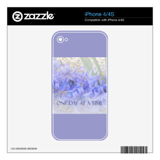 One Day at a Time Hyacinths iPhone 4S Skins