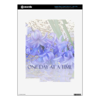 One Day at a Time Hyacinths Skin For iPad 3