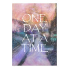 One Day at a Time Invitation