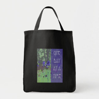 One Day at a Time Irises and Trees Bags