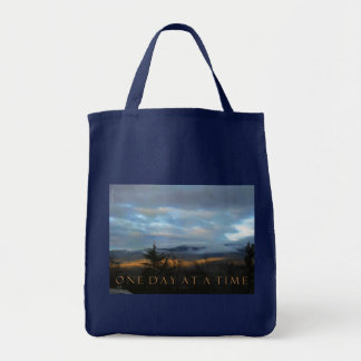 One Day at a Time January Sunset Tote Bag
