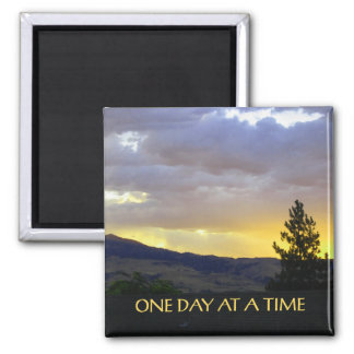 One Day at a Time Jully Sky Refrigerator Magnets