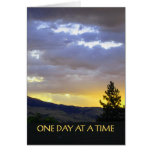 One Day at a Time July Sky Greeting Cards