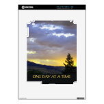 One Day at a Time July Sky iPad 2 Skin