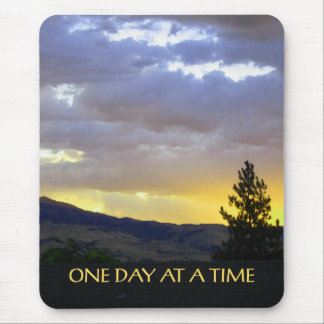 One Day at a Time July Sky Mouse Pad
