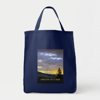 One Day at a Time July Sky Tote Bag