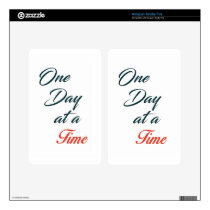 One Day at a time Kindle Fire Decal