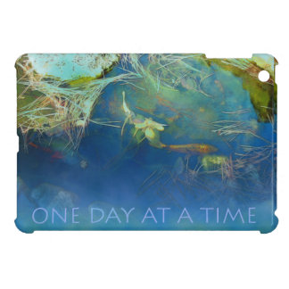 One Day at a Time Koi Pond iPad Mini Covers