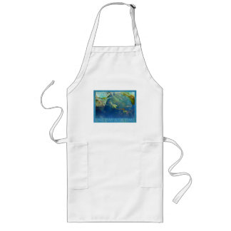 One Day at a Time Koi Pond Long Apron