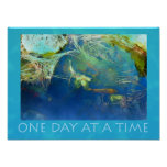 One Day at a Time Koi Pond Print