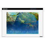One Day at a Time Koi Pond Skin For Laptop
