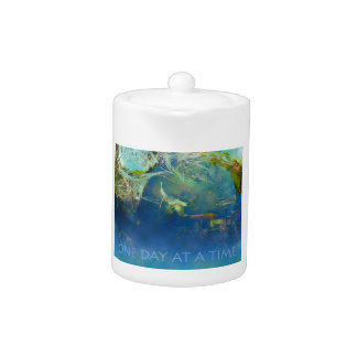 One Day at a Time Koi Pond Teapot