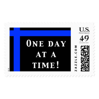 One Day At A Time! Large Stamp