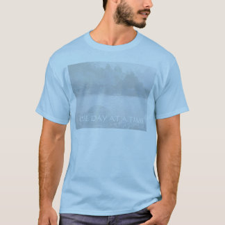 ONE DAY AT A TIME  Lavender Blue Bay T-Shirt