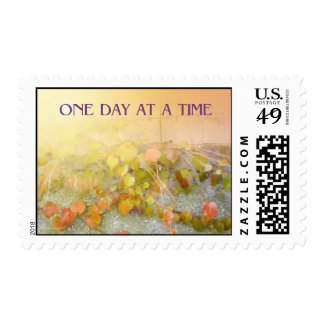 One Day at a Time Leaves Postage