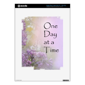 One Day at a Time Lilacs iPad 3 Skin