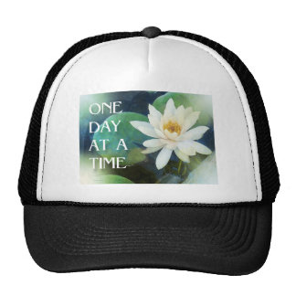 One Day at a Time Lotus One Trucker Hat