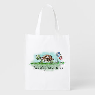 One Day at a Time Market Totes
