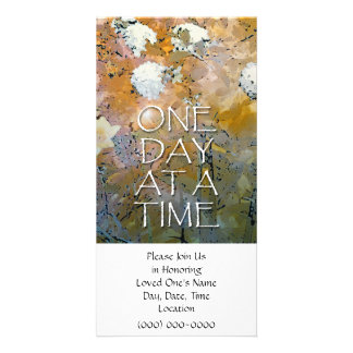 One Day at a Time Memorial Invitation