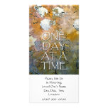 One Day at a Time Memorial Invitation Photo Greeting Card