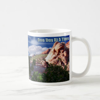 One day at a time, mug
