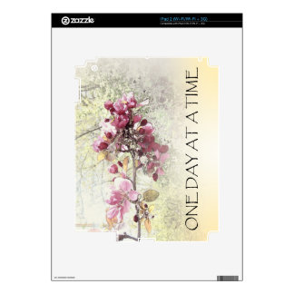 One Day at a Time O.D.A.T. Pink Blossoms Decals For iPad 2