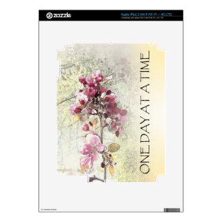One Day at a Time O.D.A.T. Pink Blossoms Skin For iPad 3
