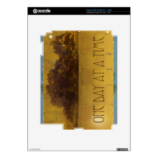 One Day at a Time Oaks by Lake iPad 2 Decal