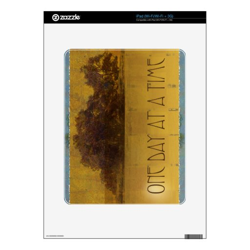 One Day at a Time Oaks by Lake Skin For The iPad