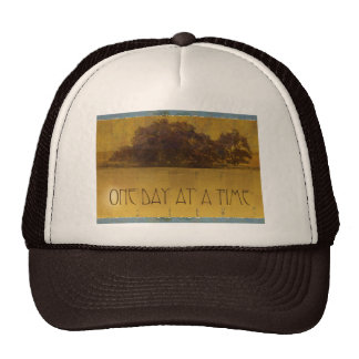 One Day at a Time Oaks by Lake Trucker Hat