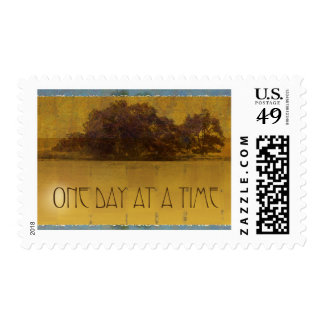 One Day at a Time Oaks by the Lake Stamp