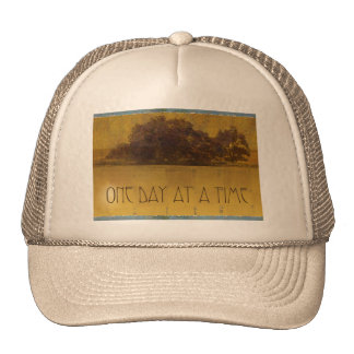 One Day at a Time Oaks by the Lake Trucker Hat
