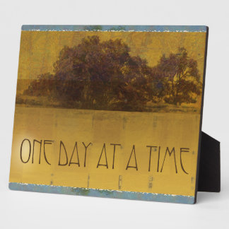 One Day at a Time Oaks Plaque