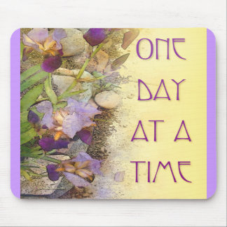One Day at a Time ODAT Irises Mousepads