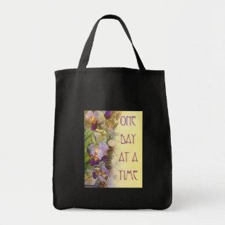 One Day at a Time (ODAT) Irises Nouveau Canvas Bags