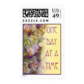 One Day at a Time (ODAT) Irises Postage