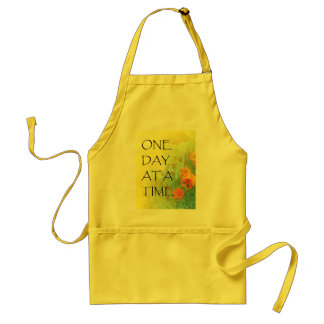 One Day at a Time (ODAT) Lilacs & Poppies Adult Apron