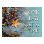 One Day at a Time (ODAT) Maple Leaf Poster