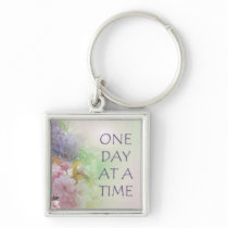 One Day at a Time ODAT Spring Flowers Keychain