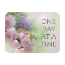 One Day at a Time ODAT Spring Flowers Magnet