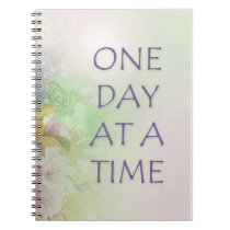 One Day at a Time ODAT Spring Flowers Notebook