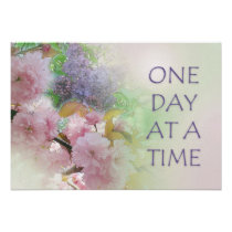 One Day at a Time ODAT Spring Flowers Poster