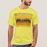 One Day at a Time Orange Purple Field T-Shirt