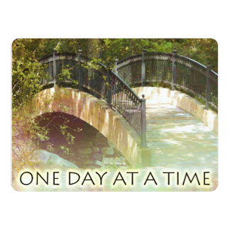 One Day at a Time Park Bridge Card