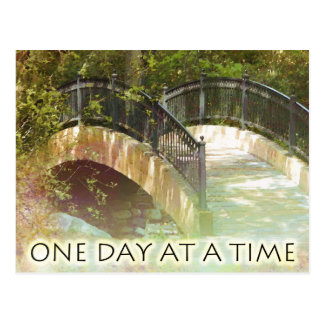 One Day at a Time Park Bridge Postcard