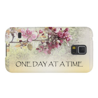 One Day at a Time Pink Blossoms Galaxy S5 Case